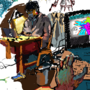 Drawpile 1 by ArmyAnts