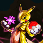 Pikachu+Mewtwo = Mewchu by fiepaper