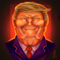 Trump Caricature Painting of Psychicpebble's Sketch