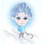 JACK FROST CHARACTER DESIGN FOR A GAME APP by d-digerati