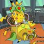 Pokemashup Victreebel+Pikachu= Victreekachu by Lebunya