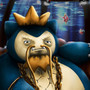 King Magirlax of the Deep (Magikarp+Snorlax) by EvanScale