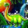 Brontosaurus by BeKoe