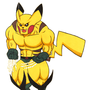 Wolverine + Pikachu = Wolverchu by nicktrappartist