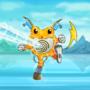 Poliwrath Raichu Pokémon Mashup by Tataglia