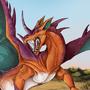 Territory - Charizard & Nidoking Fusion