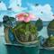 lapras + venusaur = laprasaur (the moving islands)