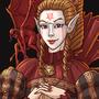 Elven Diabolist by Rocktopus64