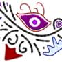 Art #13 -- Rustic Tribal Cyclops Insignia