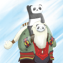 Pandabard by Nekuma