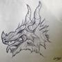Dragon #1 by ZestySalmonBurger