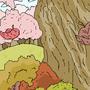 Old Roan Tree by krimmson