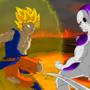 Goku vs Frieza by ChrisRWS