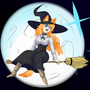 Patricia The Witch by Rocketchoochoo
