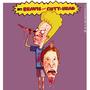 Beavis and Cutt-head by mariotheartistbiz