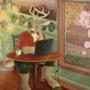 Coffee Shop Deer by Ctrl-Alt-Spiff