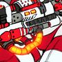 Pyra and a big fuckin gun