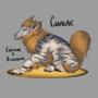Cunine [Cubone X Arcanine] by HeartDeGuzman