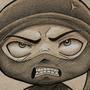 Angry Ninja by UnmaskArt