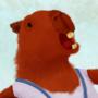 capybara girl by daetj