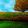 orange tree by BlueOceans
