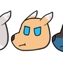 Amorous Cast Grump Heads! by punkfruit