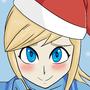 Christmas Samus by Plazmix