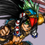 Indigenous Australian knight!!! (Non stop knight character desgine contest) by Captain-Slow