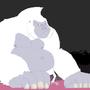 big dumb gorilla by lenkalamari