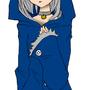 Neko in Blue Jacket by Ethanthecrazy