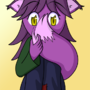 Shy Purple Fox