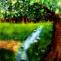 Tree And Brook