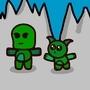 the Goblin cactus duo by Rozzarino