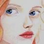 Redhead girl by kacenace
