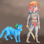 Hero And Pet by ScribbleFix
