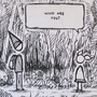 Pilgrim's Encounter - Sketch