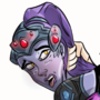 Spanking Widowmaker Commission (GIF) by PaddleTone