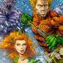 Aquaman & Mera - COMMISSION by AleBorgo