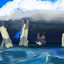 Vinesauce Ocean Monoliths by Redeemer000