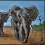 Elephants by MWArt