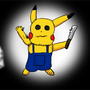 A Haunted Pikachu by CaptainThinker