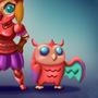 The Sky Warriors (Hero Pet Challenge) by welldoboy