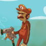 Uncle Mario by brownbair