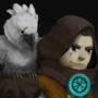 COTM Jazza - Hero&Pet - Ranger & Harpy Eagle by ParadoxArt