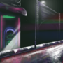 Neon sidewalk by KiwisBurntToast