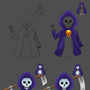 Reaper WIP by Yulon