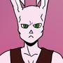 Bob the Psycho Rabbit Model ref. sheet 2016