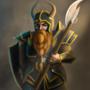Dwarven Warrior by britsie1