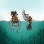 Two Turtle Doves by JoannaChlopek