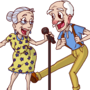 Snowbird Karaoke Couple by Most-High-Studios